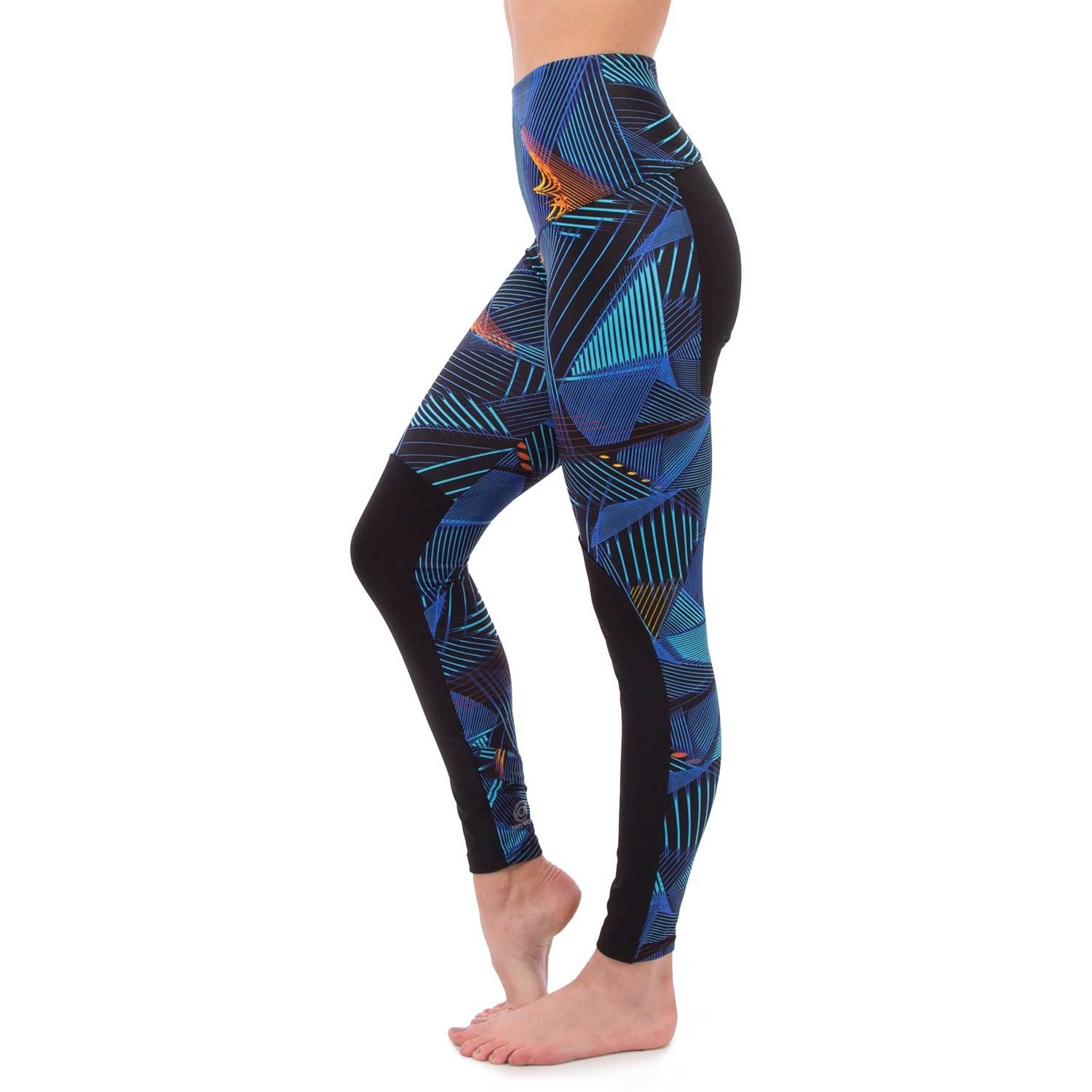 Third Rock Apache Leggings - Women's - Electric Blues Black