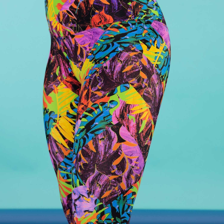 Third Rock Titan Leggings - Womens - Botangle Tropical