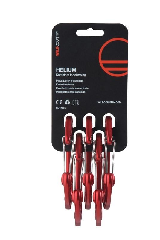 Wild Country Helium Karabiner 5-pack