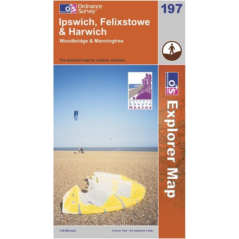 EXP197 Ipswich Felixstowe & Harwich: Woodbridge & Manningtree