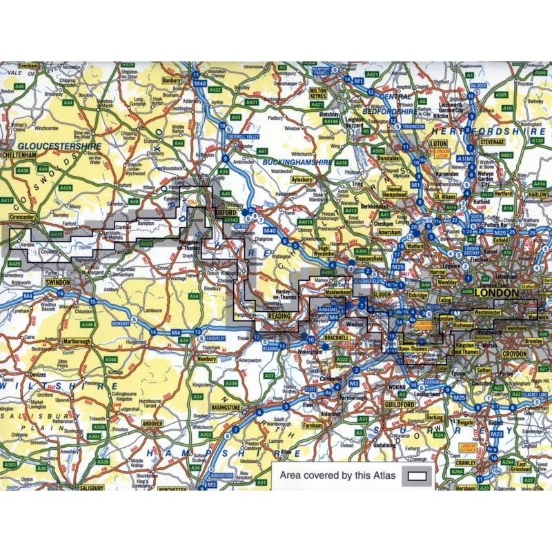 Thames Path A-Z Adventure Atlas by A-Z
