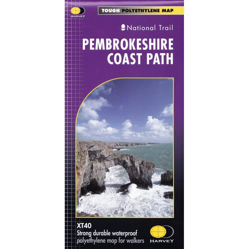 Pembrokeshire Coast Path: Harvey XT40