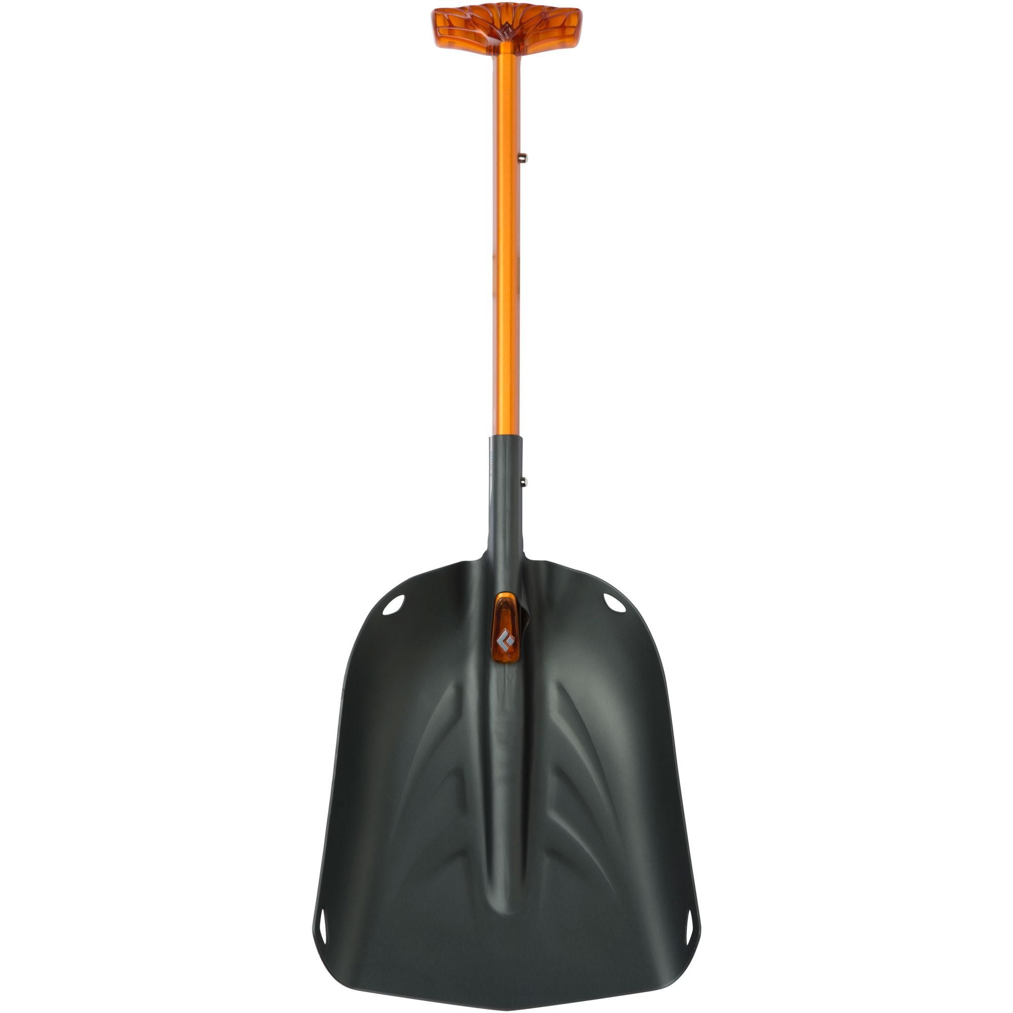 Black Diamond Deploy 7 Snow Shovel - Orange/Black