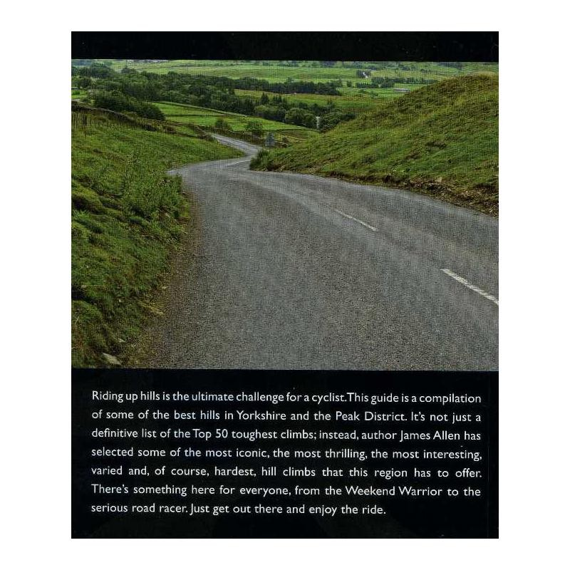 50 Classic Cycle Climbs: Yorkshire & Peak District by The Crowood Press