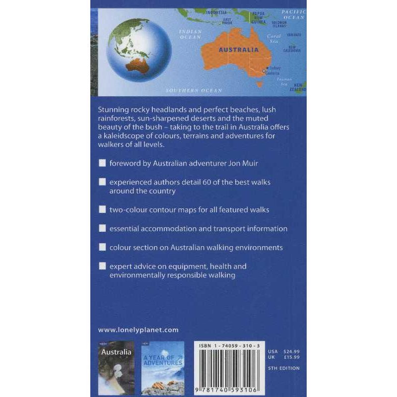 Walking in Australia by Lonely Planet