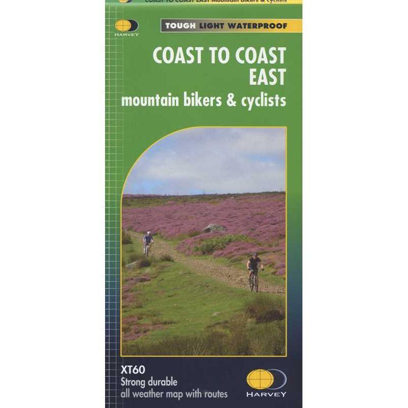 Coast to Coast East: mountain bikers & cyclists by Harvey