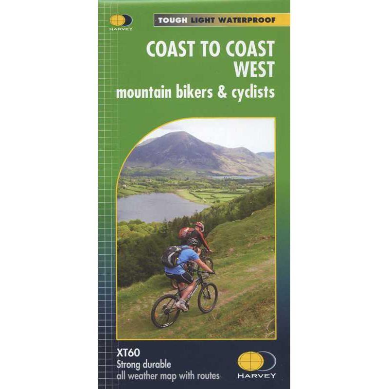 Coast to Coast West: mountain bikers & cyclists by Harvey