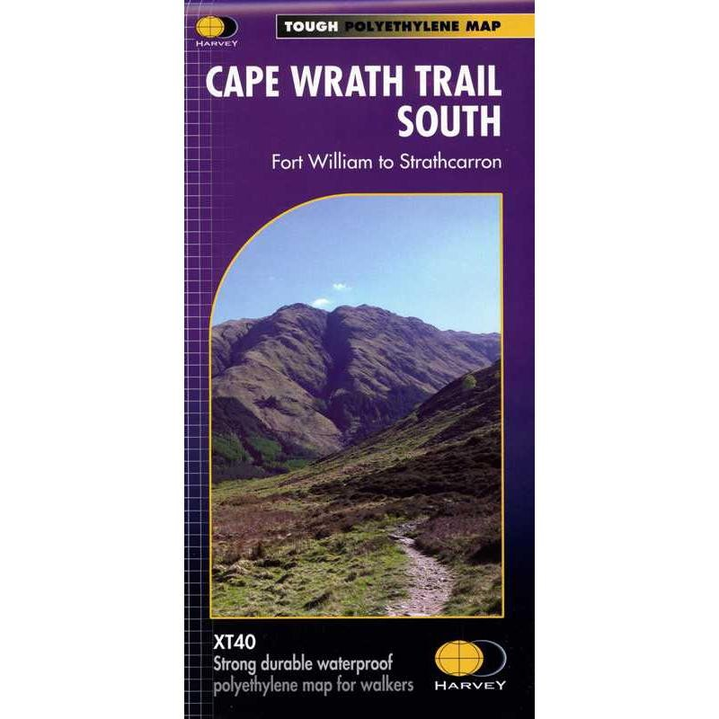 Cape Wrath Trail South: Fort William to Strathcarron by Harvey
