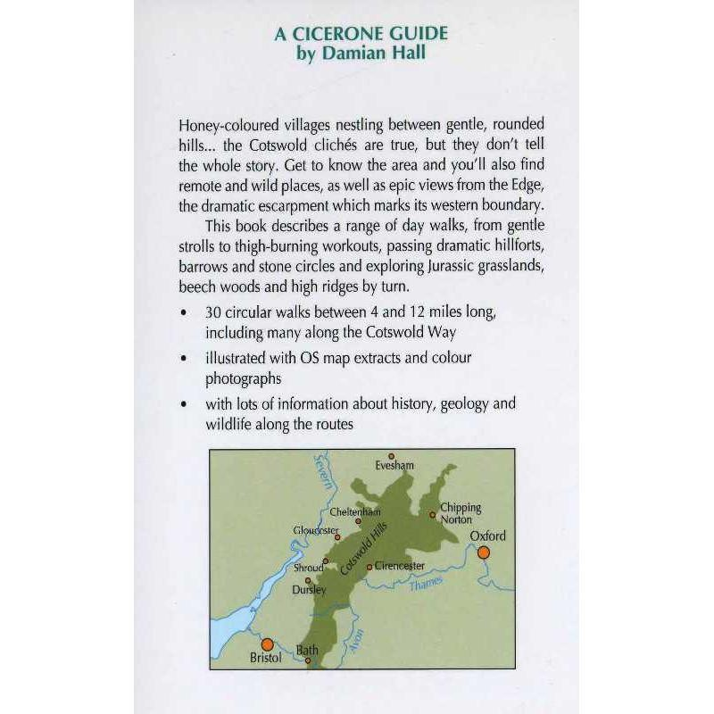 Walking in the Cotswolds: 30 classic hill and valley walks by Cicerone