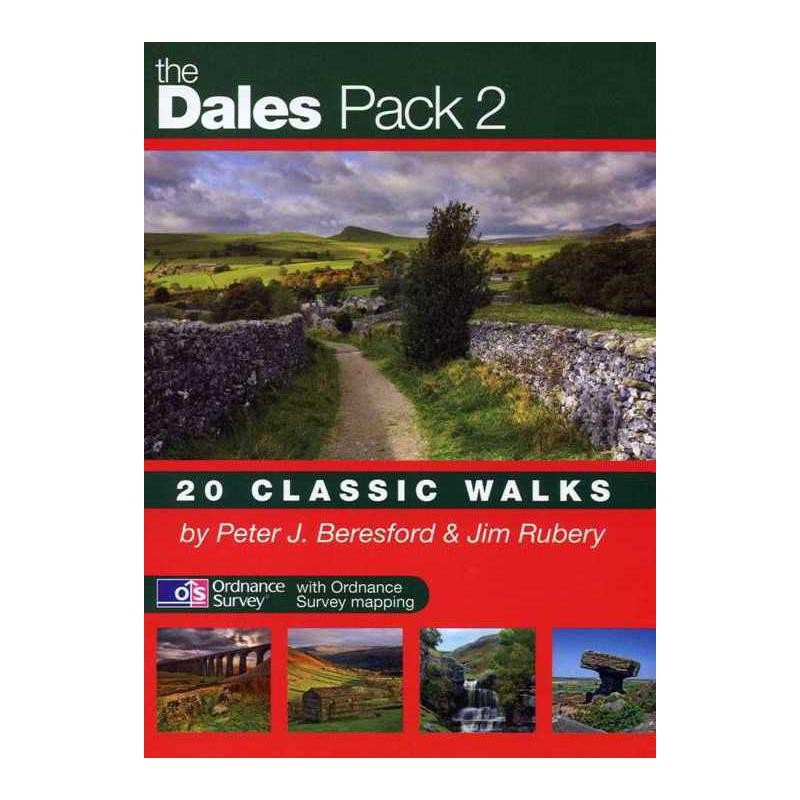 The Dales Pack 2: 20 Classic Walks by walking-books.com