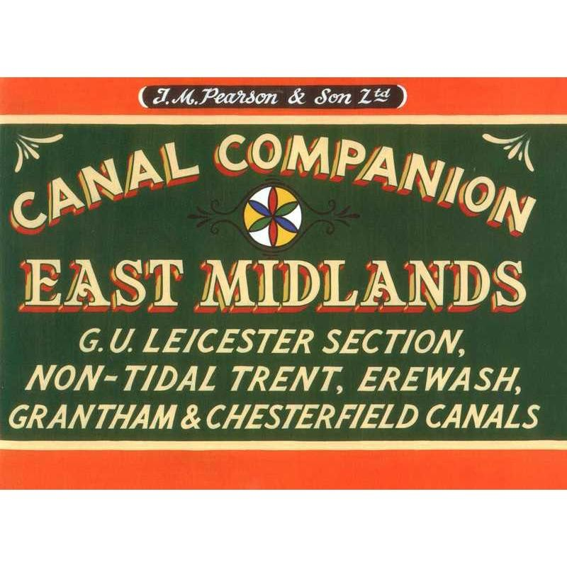 East Midlands Canal Companion by Wayzgoose