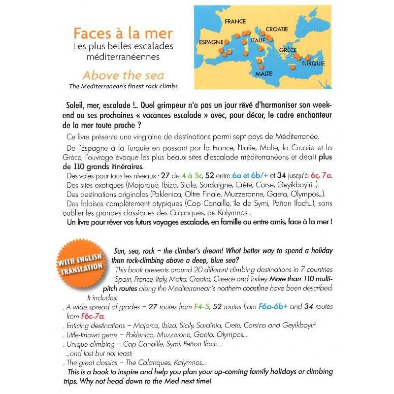 Faces a la mer: Above the sea - The Mediterraneans finest rock climbs by Editions Gap