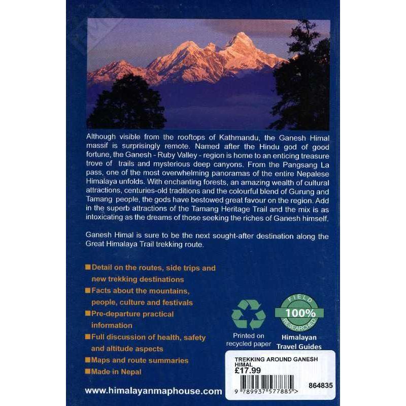 Trekking Around Ganesh Himal: Tamang Heritage Trail by Himalayan Map House