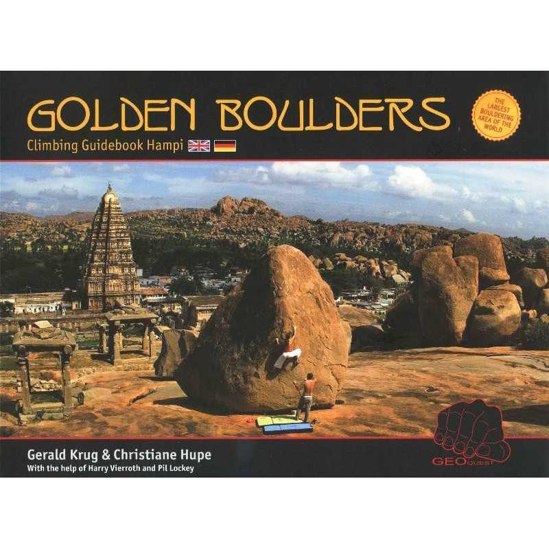 Golden Boulders: Hampi Climbing Guidebook by Geoquest