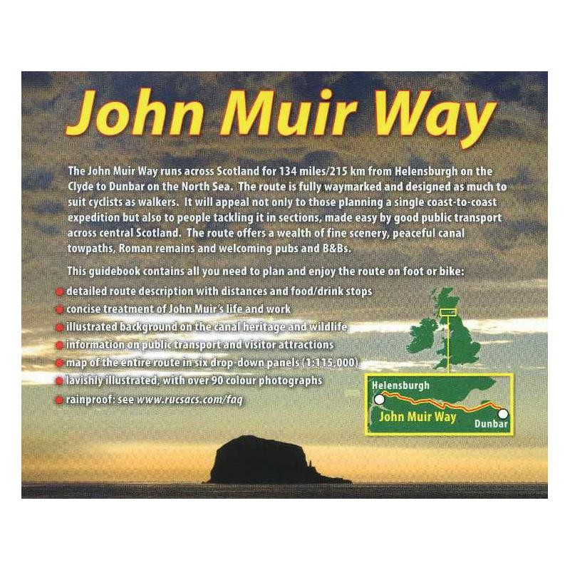 John Muir Way: A Scottish coast-to-coast route by Rucksack Readers