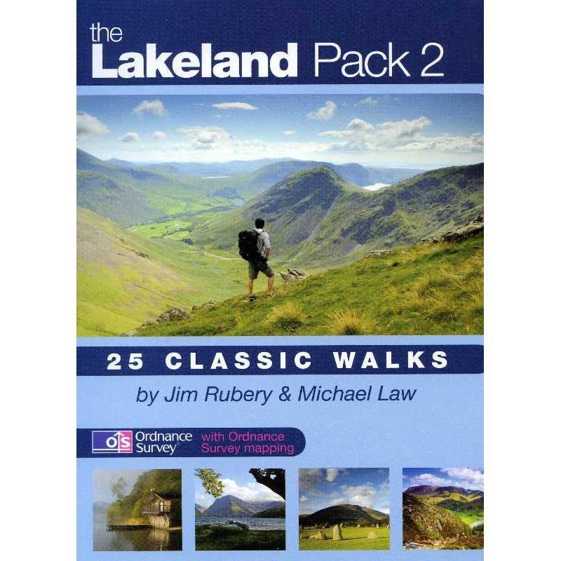 The Lakeland Pack 2: 25 Classic Walks by walking-books.com