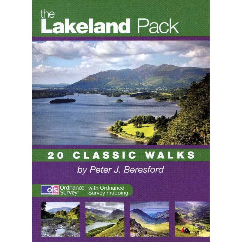 The Lakeland Pack: 20 Classic Walks by walking-books.com