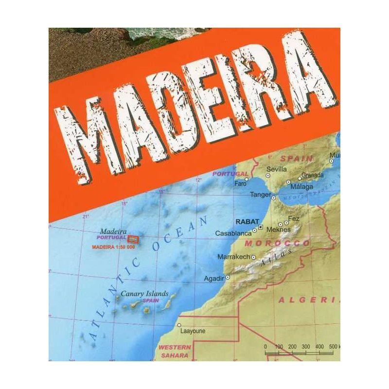 Madeira Trekking Map by terraQuest
