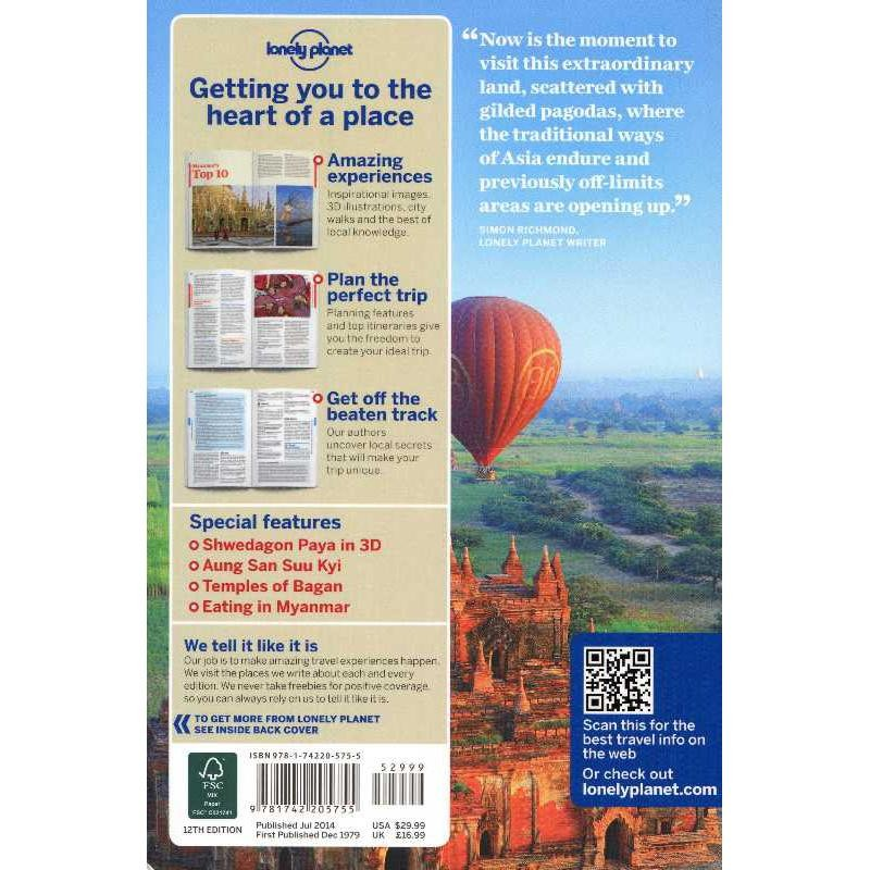 Myanmar: Burma by Lonely Planet