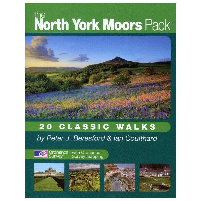 The North York Moors Pack: 20 Classic Walks by walking-books.com