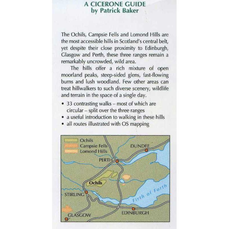 The Ochils Campsie Fells and Lomond Hills by Cicerone