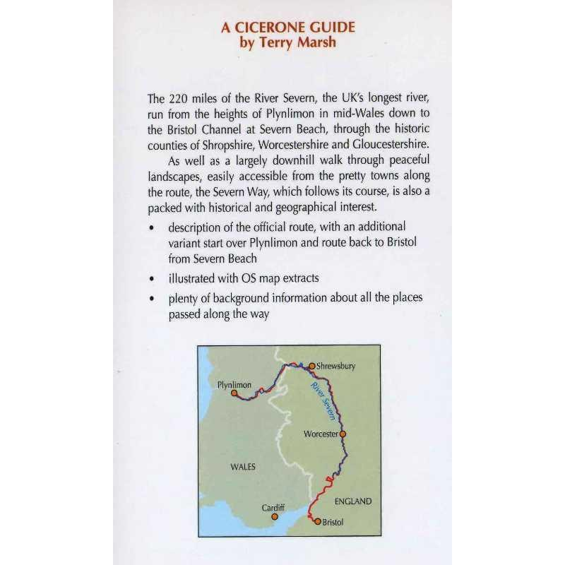 The Severn Way: The UKs Longest River from Source to Sea by Cicerone