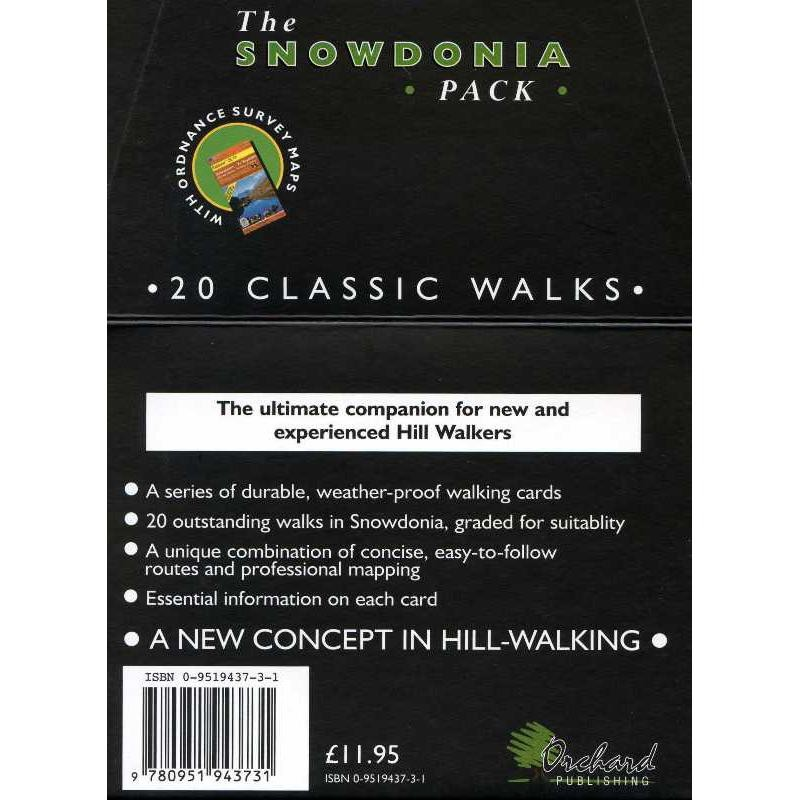 The Snowdonia Pack: 20 Classic Walks by Orchard Publishing