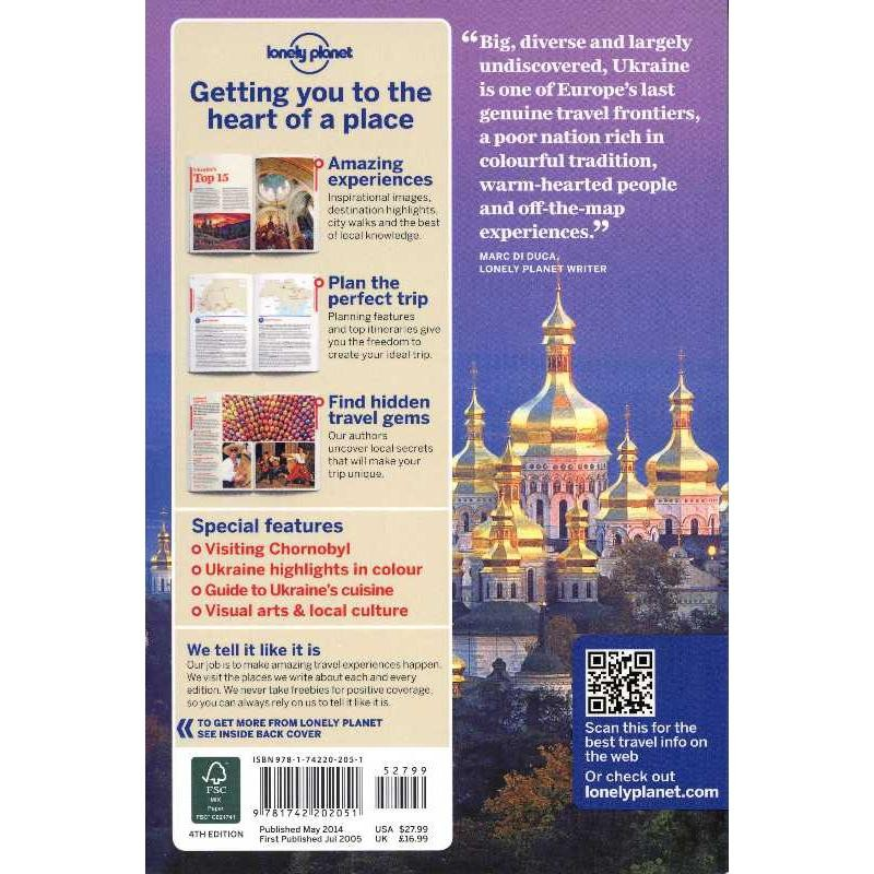 Ukraine by Lonely Planet