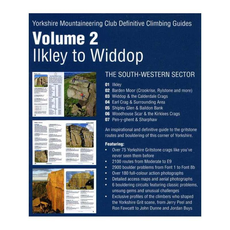 Yorkshire Gritstone Volume 2: Ilkley to Widdop by Yorkshire Mountaineering Club