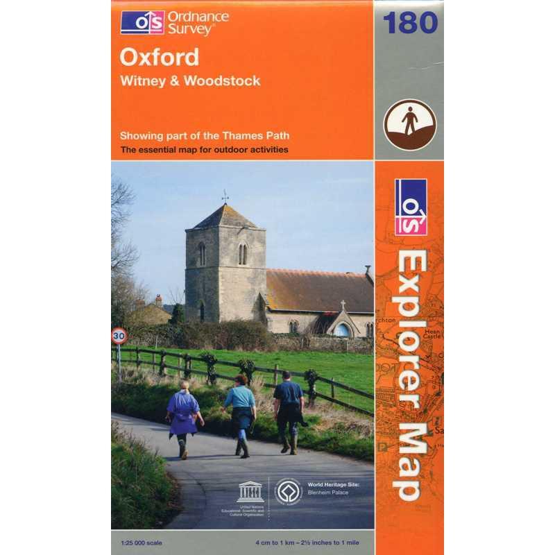 EXP180 Oxford: Witney & Woodstock
