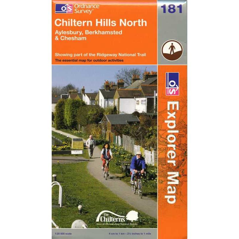 EXP181 Chiltern Hiils North: Aylesbury Berkhamsted & Chesham
