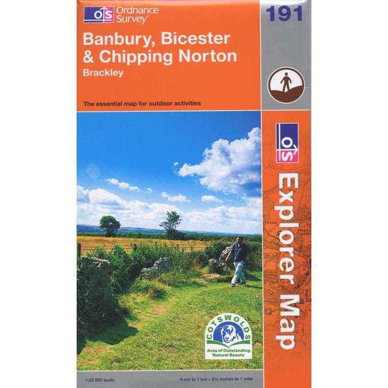 EXP191 Banbury Bicester & Chipping Norton: Brackley