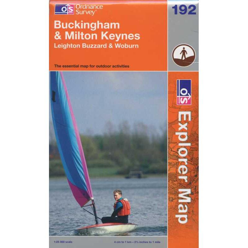 EXP192 Buckingham & Milton Keynes: Leighton Buzzard & Woburn