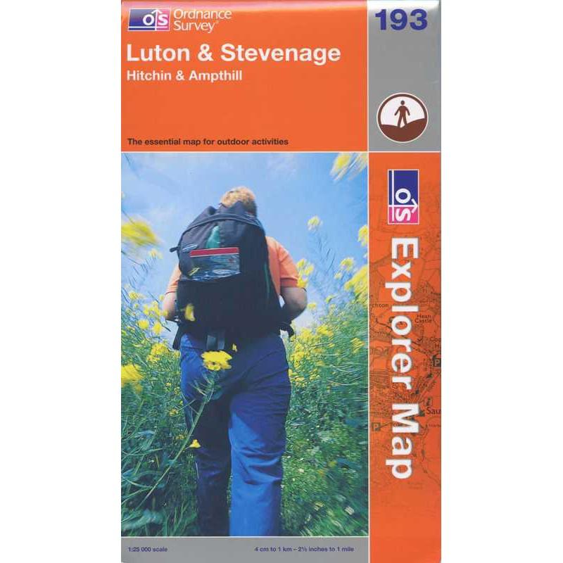 EXP193 Luton & Stevenage: Hitchin & Ampthill
