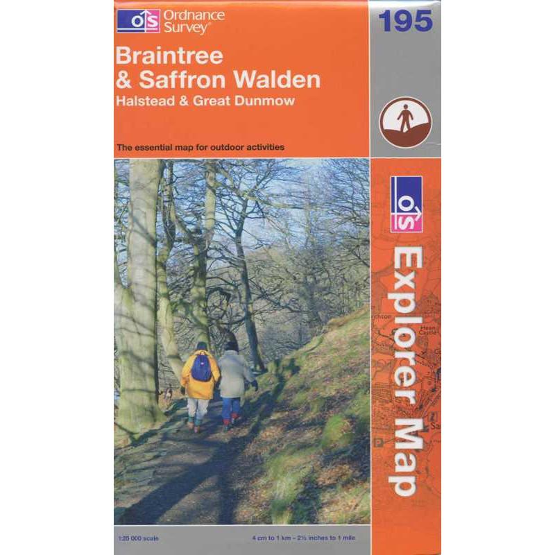 EXP195 Braintree & Saffron Walden: Halstead & Great Dunmow