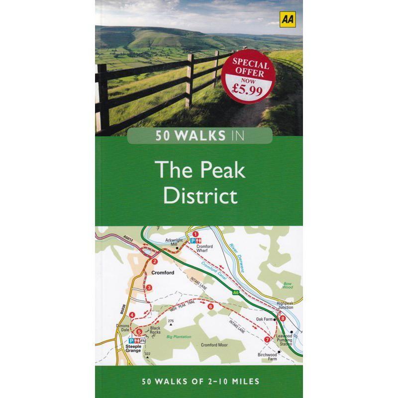 50 Walks in the Peak District by AA