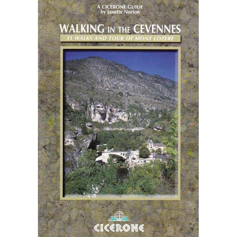 Walking in the Cevennes by Cicerone