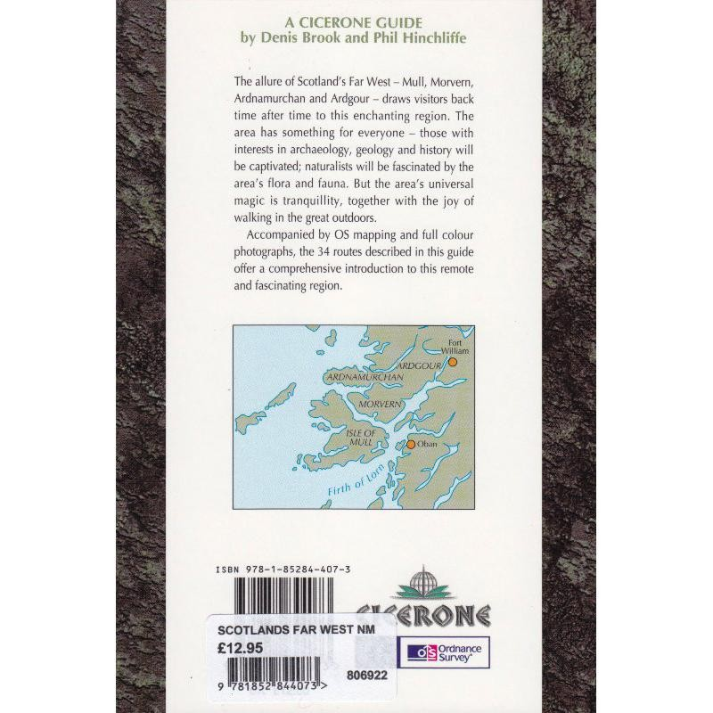 Scotlands Far West: Walks on Mull and Ardnamurchan by Cicerone