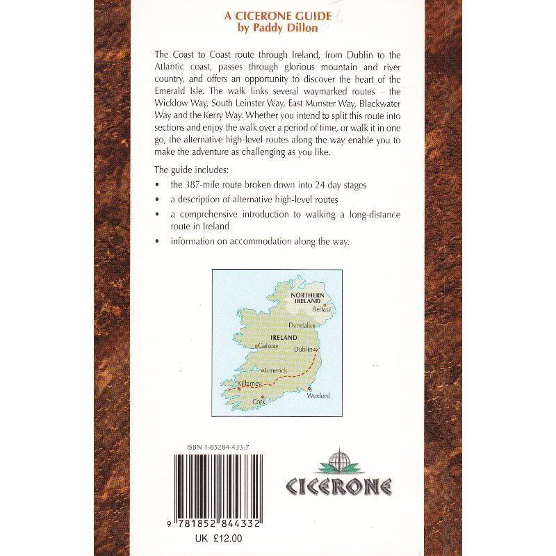 The Irish Coast to Coast Walk by Cicerone