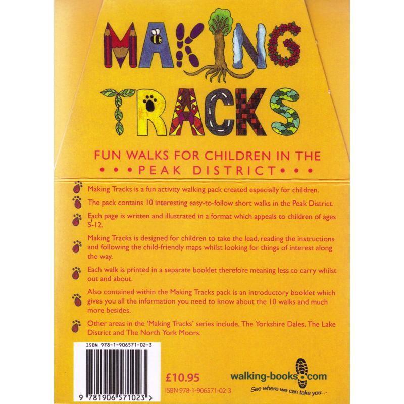 Making Tracks: Fun Walks for Children in the Peak District by walking-books.com
