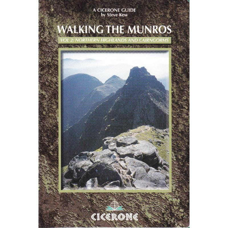 Walking the Munros Vol 2: Northern Highlands and Cairngorms by Cicerone