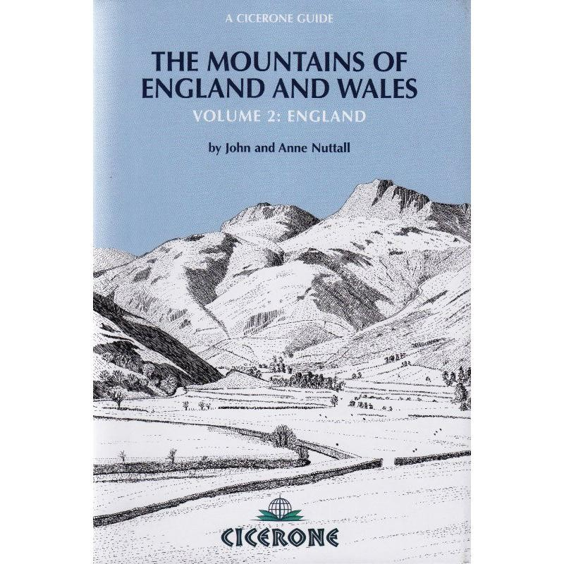 The Mountains of England & Wales Volume 2: England by Cicerone