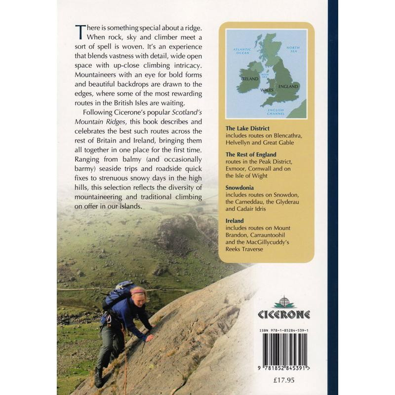 The Ridges of England Wales and Ireland by Cicerone