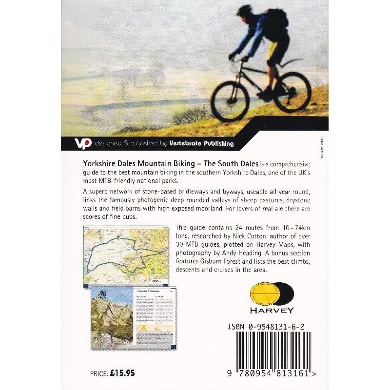Yorkshire Dales Mountain Biking: The South Dales by Vertebrate Publishing