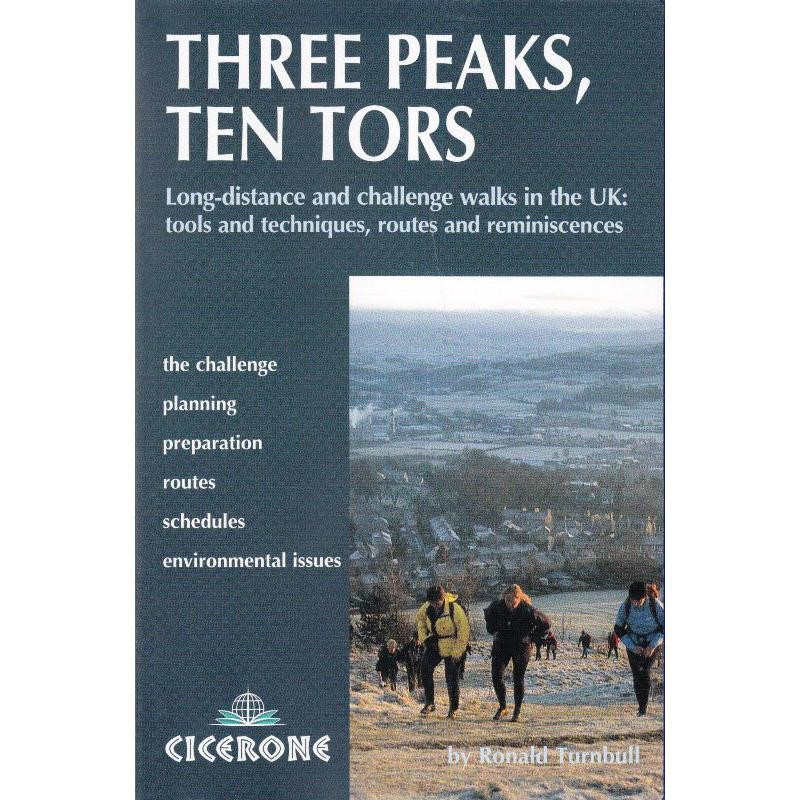 Three Peaks Ten Tors by Cicerone