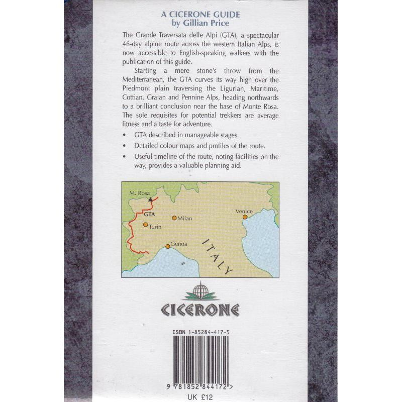 Through the Italian Alps by Cicerone