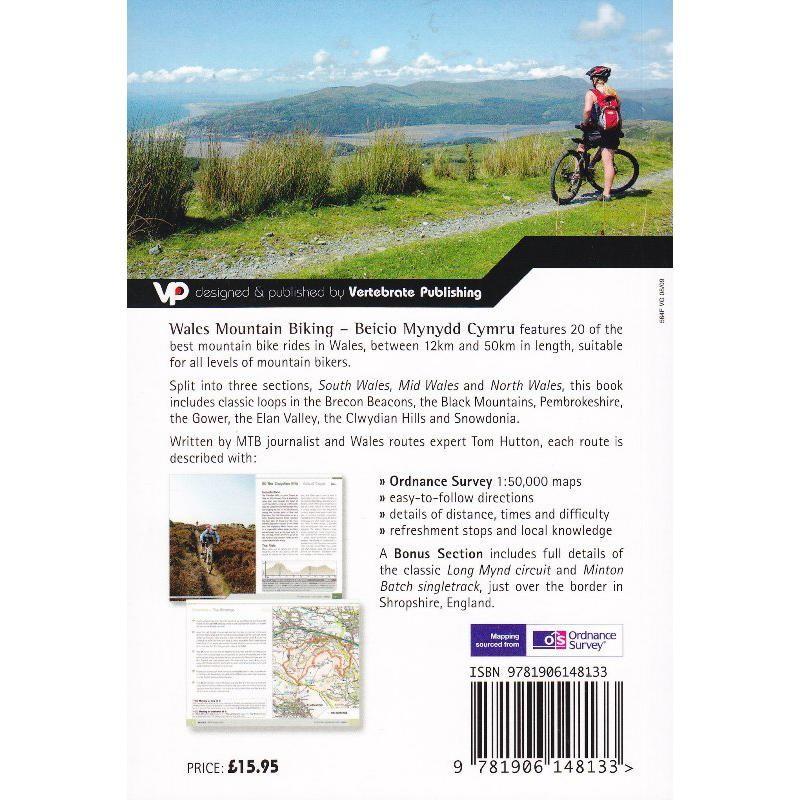 Wales Mountain Biking: Beicio Mynydd Cymru by Vertebrate Publishing