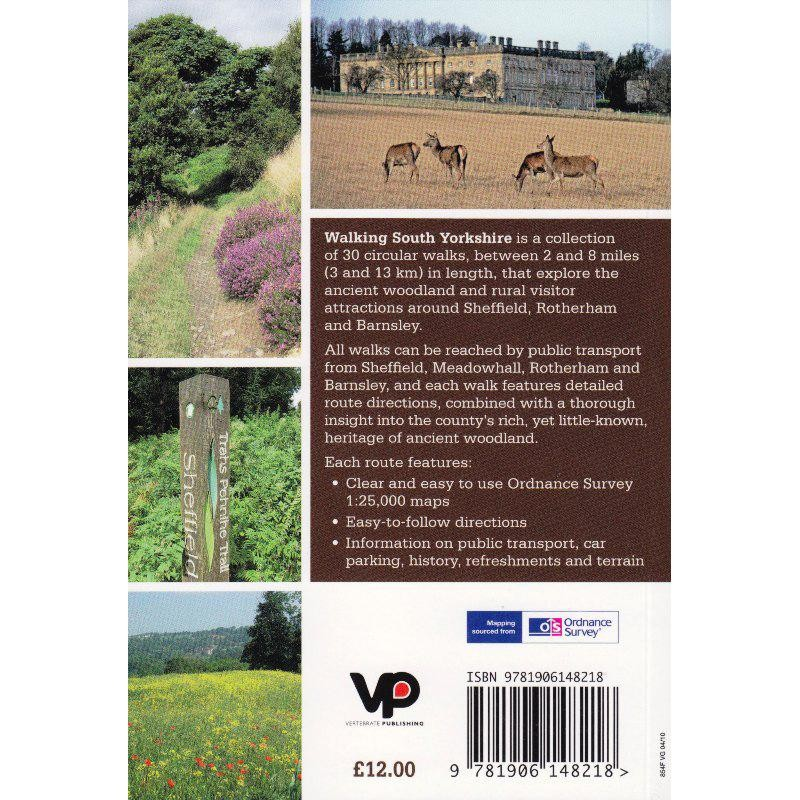 Walking South Yorkshire by Vertebrate Publishing