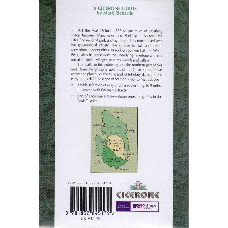 White Peak Walks: The Northern Dales by Cicerone