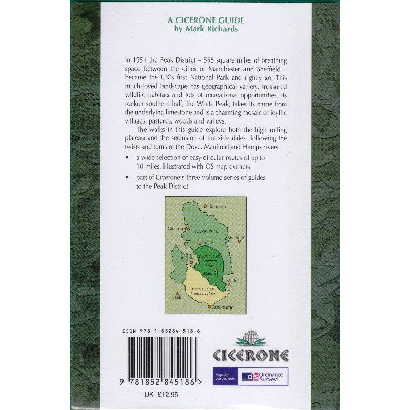 White Peak Walks: The Southern Dales by Cicerone